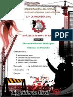 Discontinuidad Del Diafragma & Sistemas No Paralelos
