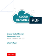 Whats New in R13 Update (17B - 17D) Oracle Global Human Resource