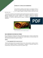 Recubrimiento y Empleo de Inhibidores