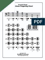 Baritone Fingering Chart