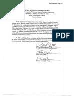 IC Level 3 Report, Confidential Minutes