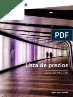 Precios Silvania 2019 España