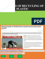 Logisctics of Recycling of Plastic