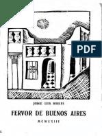 BORGES - Fervor de Buenos Aires 1923 (Print) (1)