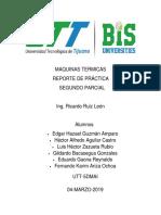 Maquinas Termicas Report