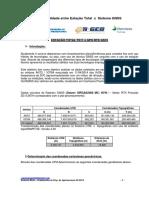 Estação Total Ts11 x Gps Rtk Gs15_relatório Final