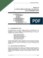 TEMA10-Contaminación de Las Aguas