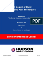 Air cooled head exchagers - Axial Fans
