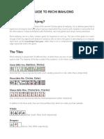 Riichi Mahjong - Beginner's Guide