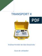 TRANSPORT X Guia Do Utilizador - 40-0140-03