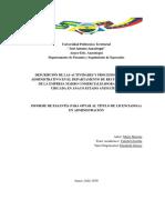 Informe de Pasantias IUTA