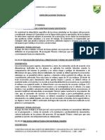 Especificaciones Tecnicas CASETA DE GUARDIANIA