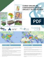Curso Online de Cartografía Digital Con ArcGIS y AutoCAD Map