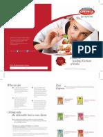 E-Catalogues Food Service Cremica Food