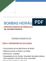 Tema 1 Principios Básicos de Hidráulica