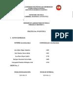 Informe Práctica 9(Estática)