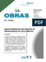 Deposito Abastecimento Lorca