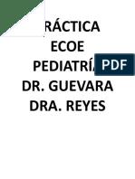 ECOE pediatría Curso Dr. Guevara