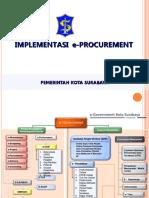 Implementasi e-procurement surabaya