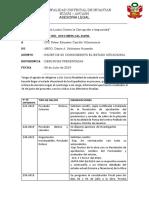 INFORME N°005 MD-HUANTAR