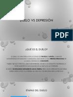 Duelo vs depresión