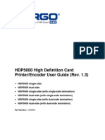 Hdp50000 User Guide