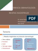 Dermatología Recetas Magistrales