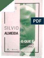 O que é Racismo Estrutural - Silvio Almeida.pdf