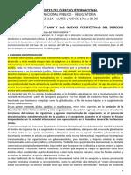 APUNTE - EXAMEN 1 - EL FENÓMENO DEL SOFT LAW Y LAS NUEVAS PERSPECTIVAS DEL DERECHO INTERNACIONAL.docx