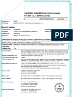 Certificado de Parámetros Urbanísticos