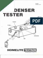 Homelite Condenser Tester