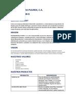 Distribuidora Pulirex Brochure