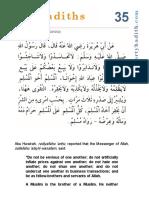 hadith 35