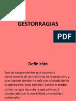 GESTORRAGIAS
