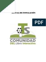 Manual Instalacion Libro Interactivo