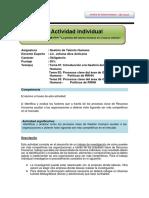 Guía y Rúbrica Para Trabajo Individual GTH