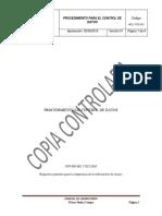 WCL-TCD-001 Procedimiento de Control de Datos.docx