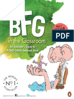 Using The BFG in the classroom