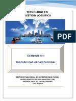 Evidencia 17.1 Trazabilidad Organizacional
