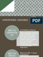 Ppt Tutklin Ht Urgensi & Stroke Hemoragik