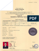 Certificate MT PT LV II Andre Pratama