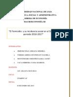 PROYECTO SOCIOLOGÍA-UNIDAD2