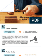Jurisprudencia Laboral 2019