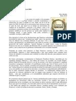 Economía Francisco - Asís 2020