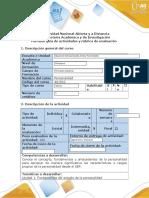 Guía de Actividades y Rúbrica de Evaluación - Fase 1 - Fundamentos Del Estudio de La Personalidad.