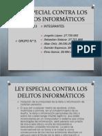 Ley Especial Contra Los Delitos Informáticos Fc i