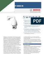 Autodome Ip 5000 Ir Data Sheet Eses 19166828299