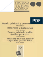 Fe cristiana y sociedad moderna (t. 6) - AA.VV.