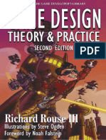 Game Design – Theory and Practice, 2nd Edition