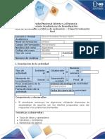 Guia de actividades y rubrica de evaluación - Etapa 5 - Evaluación final.docx